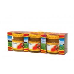 Cutie pentru borcane de miere - 3 x 315 ml
