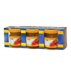 Cutie pentru borcane de miere - 3 x 35 ml