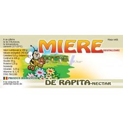 "Eticheta miere ""Rapita-nectar"""