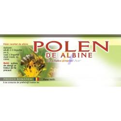 """Eticheta """"Polen de albine"""""""