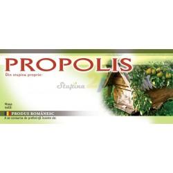 "Eticheta ""Propolis"""