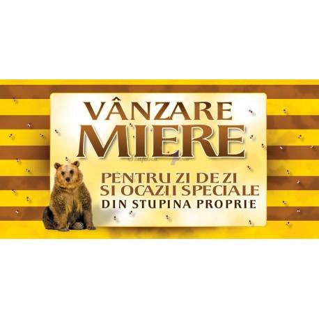 """Banner """"Miere de vanzare"""""""