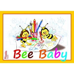 "Carte de colorat ""Bee Baby"""